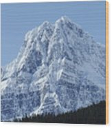 Cold Mountain- Banff National Park Wood Print