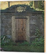 Cold Storage Crypt Wood Print