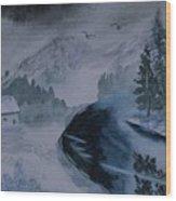 Cold Stream 2 Wood Print