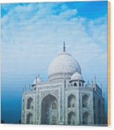 Cold Taj Wood Print