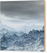 Cold Weather Environment Wood Print
