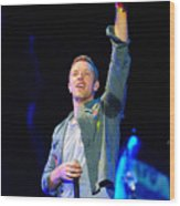 Coldplay8 Wood Print