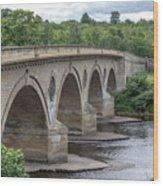 Coldstream Bridge 1807 Wood Print