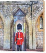 Coldstream Guard Wood Print