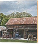 Coldwater Vintage Carriage House Wood Print