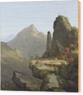 Cole: Last Of The Mohicans Wood Print