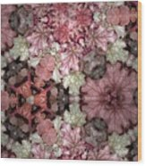 Coleus Patterns Wood Print