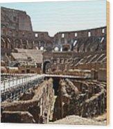 Coliseum 2 Wood Print