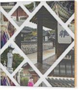 Collage Of Seoul Wood Print