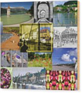 Collage Photography 1999-2009 By Sascha Meyer - Without Border Wood Print