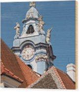 Collegiate Church Tower Wood Print