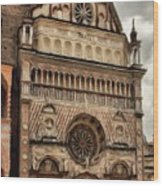 Colleoni Chapel Wood Print