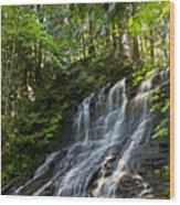 Colliery Falls Wood Print