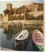Collioure Castle Wood Print