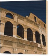 Colliseum 14 Wood Print