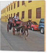 Colombia Carriage Wood Print