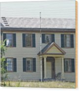 Colonel Davenport House Wood Print