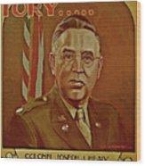 Colonel Joseph J. Healy Wood Print by Dean Gleisberg