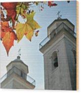 Colonia Del Sacramento Church Wood Print