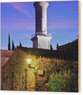 Colonia Lighthouse Wood Print