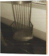 Colonial Comfort Wood Print