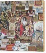 Colonial Heritage - Panel 2 Wood Print