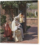 Colonial Music At Tryon Palace Wood Print
