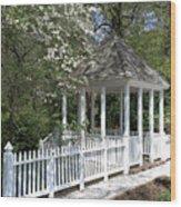 Colonial Springtime Wood Print