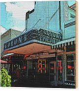 Colony Theatre Wood Print