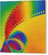 Color 35mm Strip Wood Print