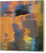 Color Abstraction Lxxii Wood Print