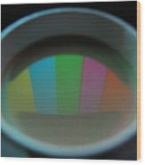 Color Bars Wood Print