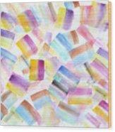 Color Burst 2 Wood Print