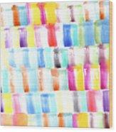Color Burst 3 Wood Print