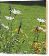 Color Combination Flowers Cc64 Wood Print
