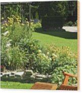 Color Combination Flowers Cc65 Wood Print