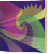 Color Designs Wood Print by Anthony Caruso