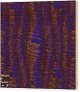 Color Fantasia Catus 1 No. 3 H A Wood Print