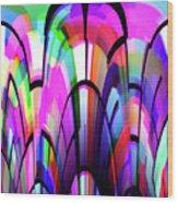Color Gates Wood Print