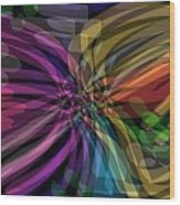 Color Grade Wood Print by Thomas Smith
