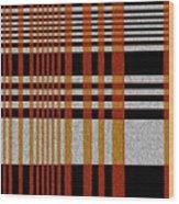 Color Grid Wood Print