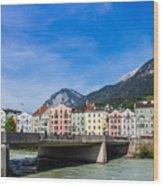 Color In Innsbruck Wood Print