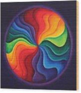 Color Joy Wood Print
