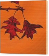 Color Me Autumn 2 Wood Print
