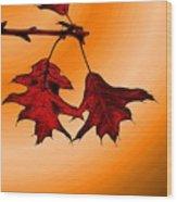 Color Me Autumn 3 Wood Print