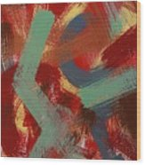 Color # 1-30 Wood Print