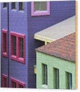 Color Of Tucson Wood Print