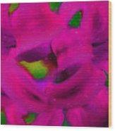 Color Schemes Wood Print