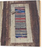 Color Strip Wood Print