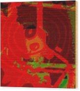 Color Trap Wood Print